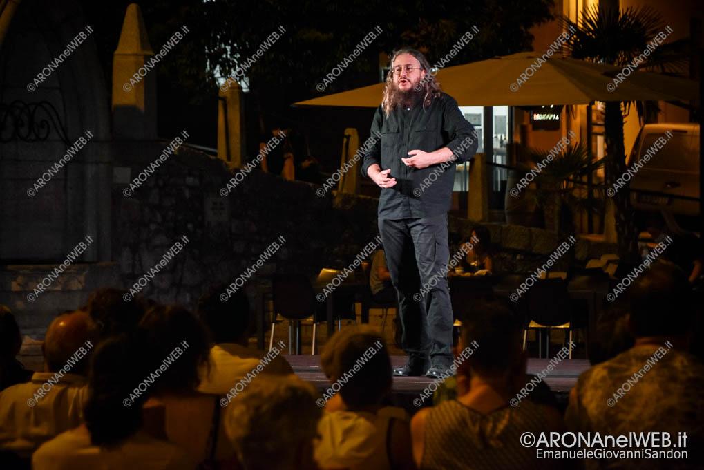EGS2020_09825 | Roberto Mercadini all'Arona Music Festival – Fuoco nero su fuoco bianco