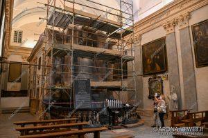 EGS2020_10077 | Proseguono i lavori di restauro alla chiesa di Santa Marta ad Arona