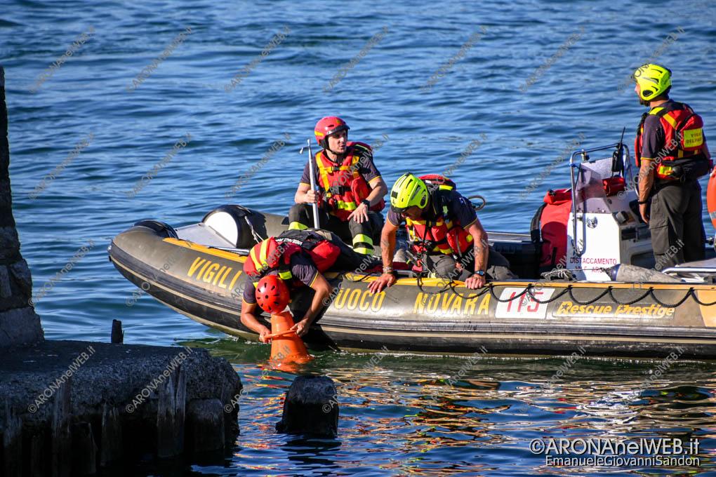 EGS2020_10843 | I Vigili del Fuoco ricercano l'annegato