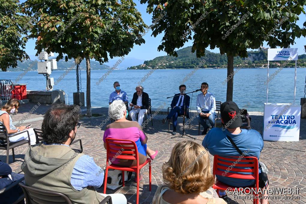 EGS2020_11714 | Conferenza stampa di presentazione della decima edizione del Festival Teatro sull'Acqua 2020