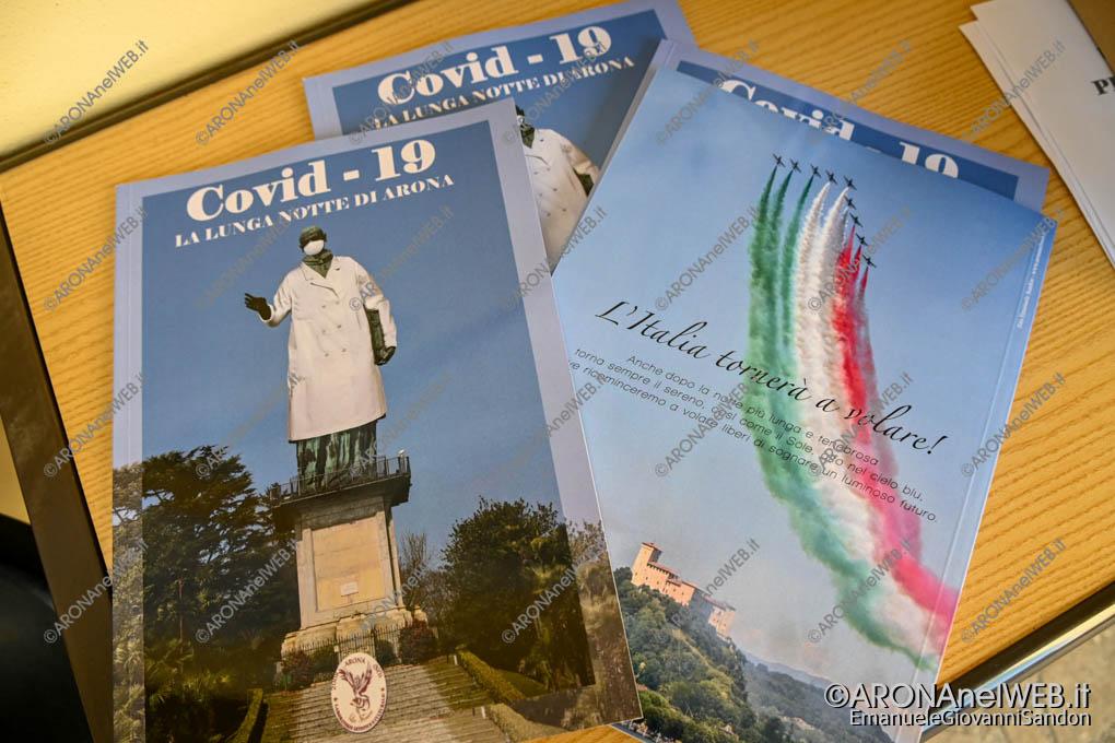 """EGS2020_11835   """"Covid-19. La Lunga Notte di Arona"""" edito dal Laboratorio Artistico e Culturale La Fenice di Arona"""