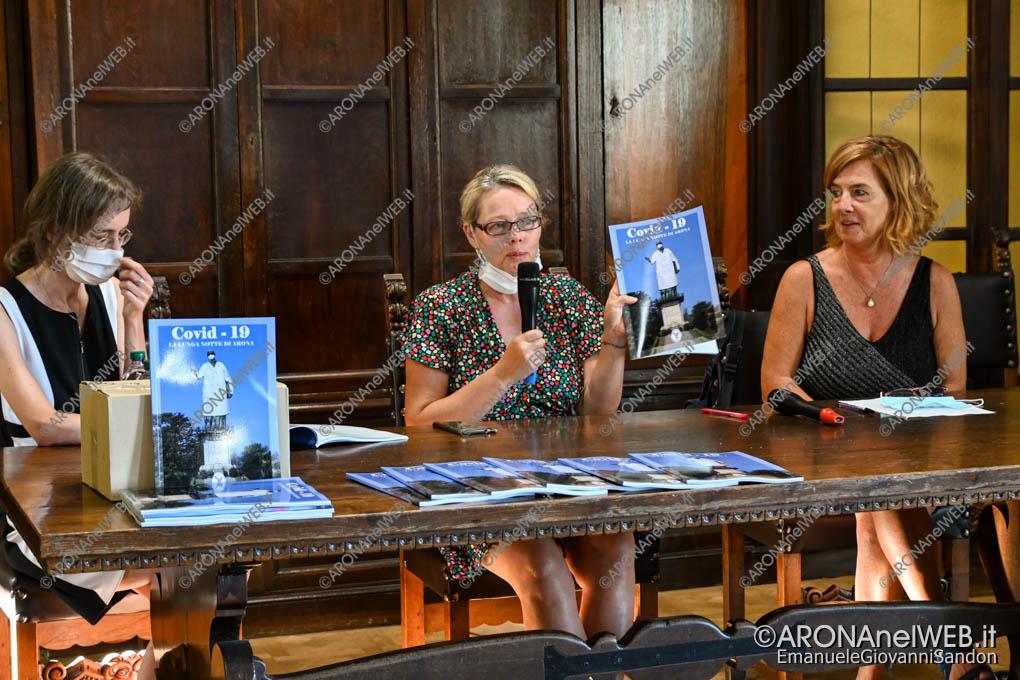 """EGS2020_11886   Presentazione del libro """"Covid-19. La Lunga Notte di Arona"""" edito dal Laboratorio Artistico e Culturale La Fenice di Arona"""