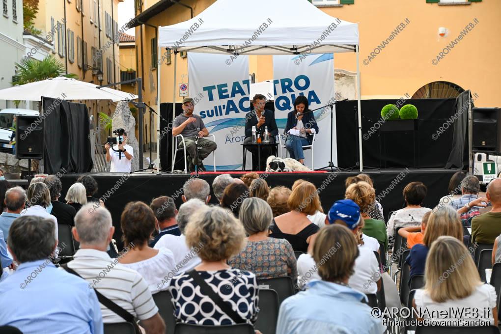 EGS2020_12968 | Sylvain Tesson e Paolo Cognetti al Teatro sull'Acqua 2020