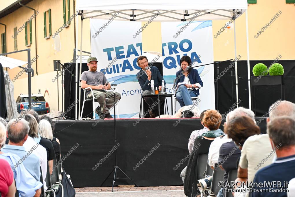 EGS2020_12999 | Sylvain Tesson e Paolo Cognetti al Teatro sull'Acqua 2020