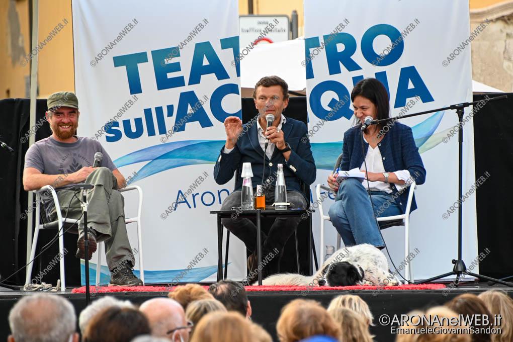 EGS2020_13003 | Sylvain Tesson e Paolo Cognetti al Teatro sull'Acqua 2020