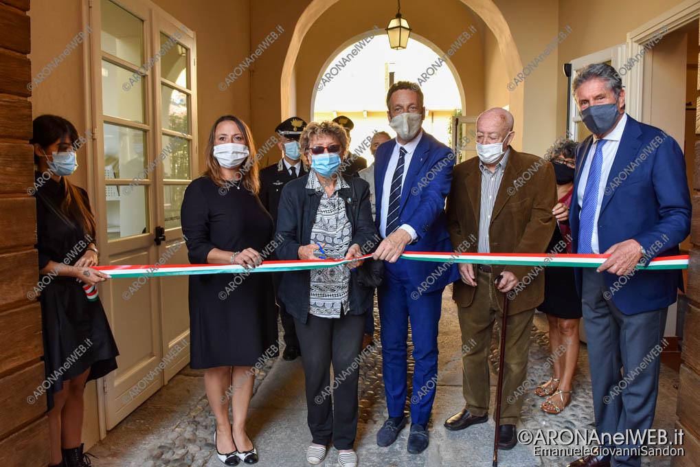 """EGS2020_13141   Inaugurazione riqualificazione della Biblioteca Civica di Arona """"Sen. Avv. Carlo Torelli"""""""