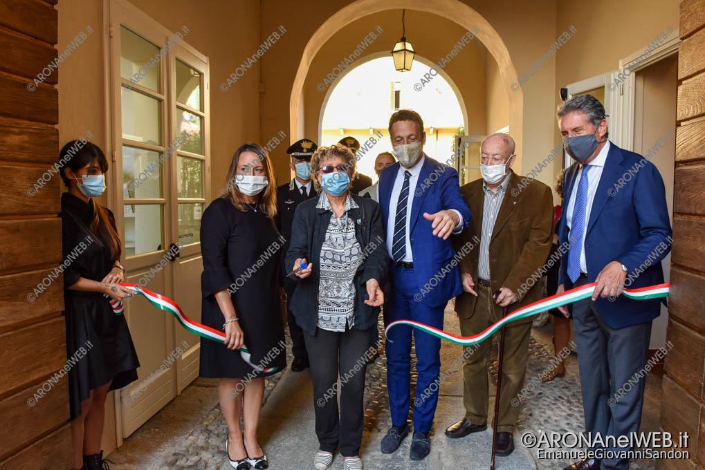 """EGS2020_13153   Inaugurazione riqualificazione della Biblioteca Civica di Arona """"Sen. Avv. Carlo Torelli"""""""