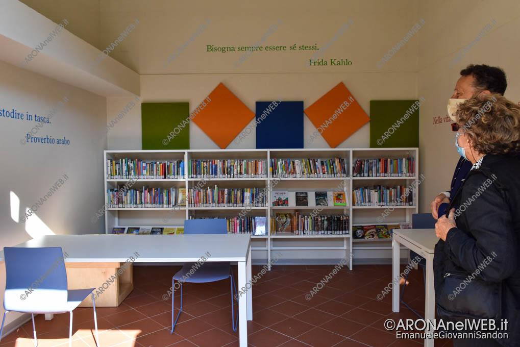 """EGS2020_13174   Inaugurazione riqualificazione della Biblioteca Civica di Arona """"Sen. Avv. Carlo Torelli"""""""