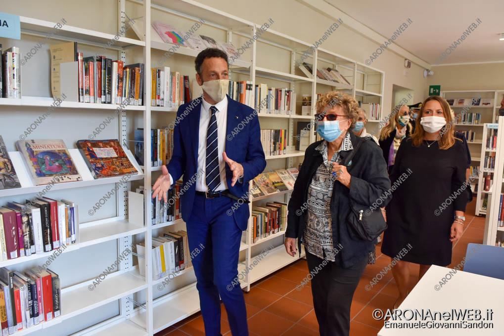 """EGS2020_13208   Inaugurazione riqualificazione della Biblioteca Civica di Arona """"Sen. Avv. Carlo Torelli"""""""