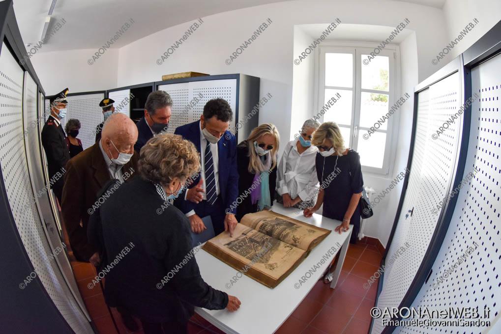 "EGS2020_13270   Sala libri antichi - Biblioteca Civica di Arona ""Sen. Avv. Carlo Torelli"""