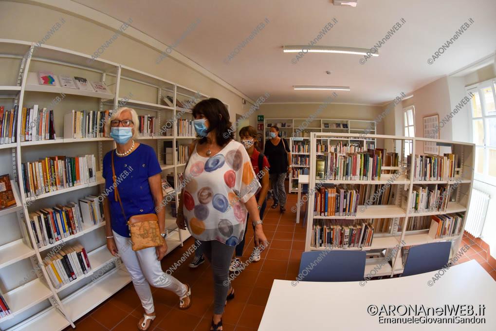 """EGS2020_13283   Nuova sala di lettura al primo piano - Biblioteca Civica di Arona """"Sen. Avv. Carlo Torelli"""""""