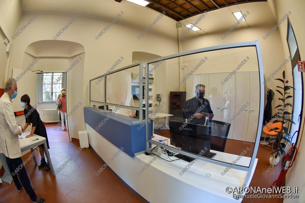 """EGS2020_13323   La reception della Biblioteca Civica di Arona """"Sen. Avv. Carlo Torelli"""""""
