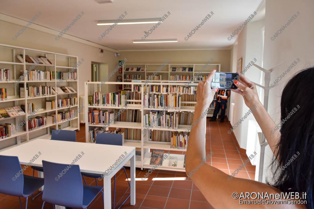 """EGS2020_13331   Nuova sala di lettura al primo piano - Biblioteca Civica di Arona """"Sen. Avv. Carlo Torelli"""""""