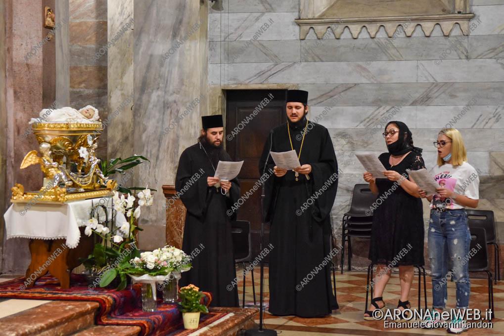 EGS2020_14572 | I vespri della Festa patronale di Maria Bambina con i monaci ortodossi