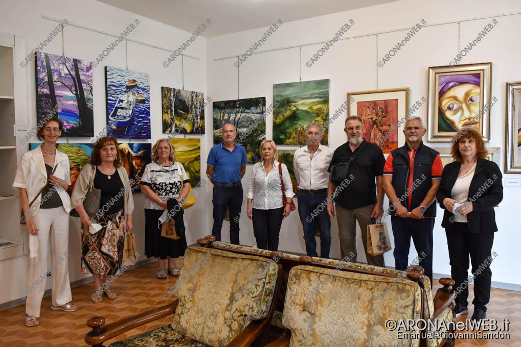 EGS2020_14938 | Gli artisti della mostra collettiva: L'Arte è Vita