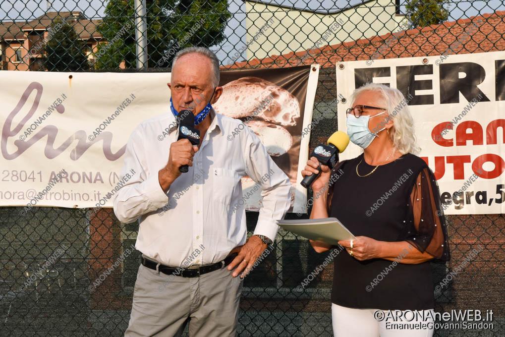 EGS2020_15022 | Damiano Malgaroli presenta la prima squadra dell'Arona Calcio