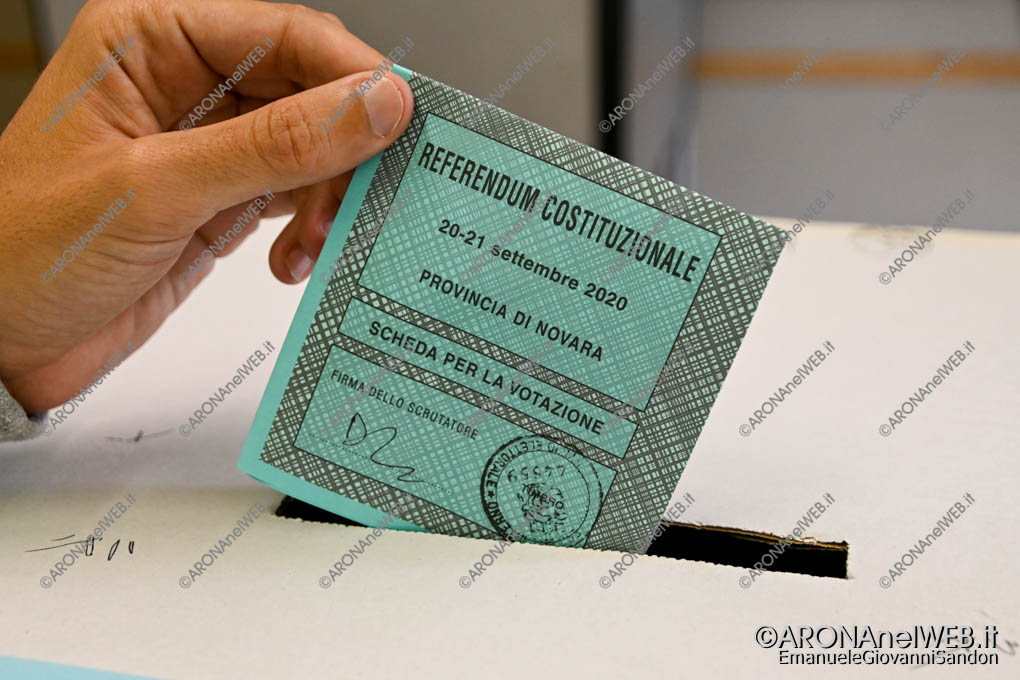 EGS2020_15083 | Scheda referendum costituzionale 2020