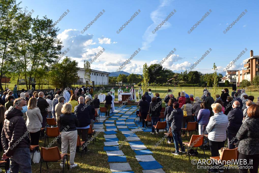 EGS2020_16220 | Celebrazione della Santa Messa dopo l'inaugurazione
