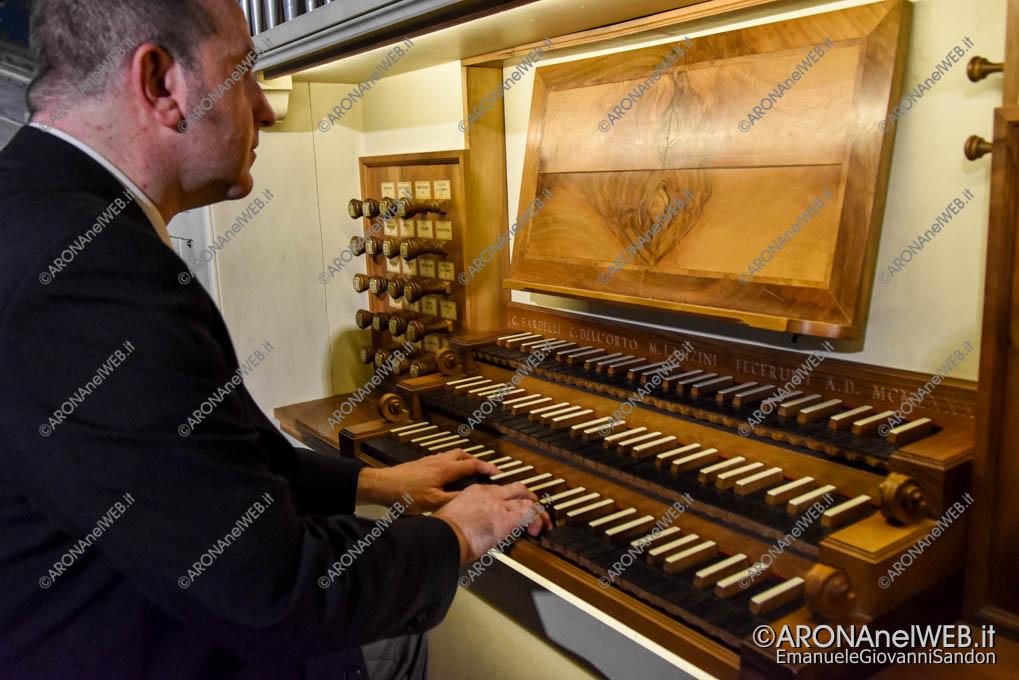 EGS2020_17617 | Gianluca Cagnani sull'organo Bardelli, dell'Orto e Lanzini di Arona