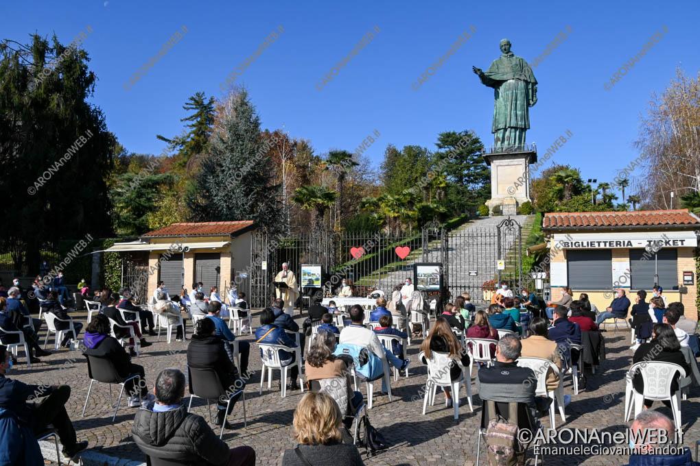 EGS2020_18180 | Festa di San Carlo 2020 - Celebrazione della Santa Messa nel piazzale della Statua