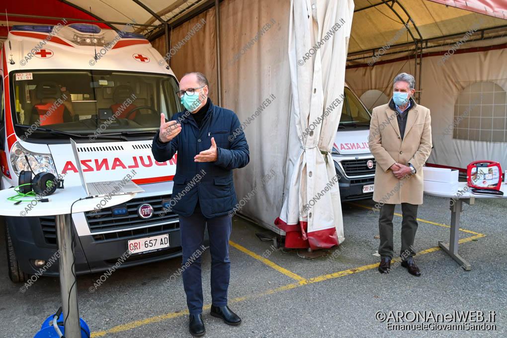 EGS2020_18308 | Il saluto e presentazione in streaming del presidente Cri Arona Michele Giovannetti