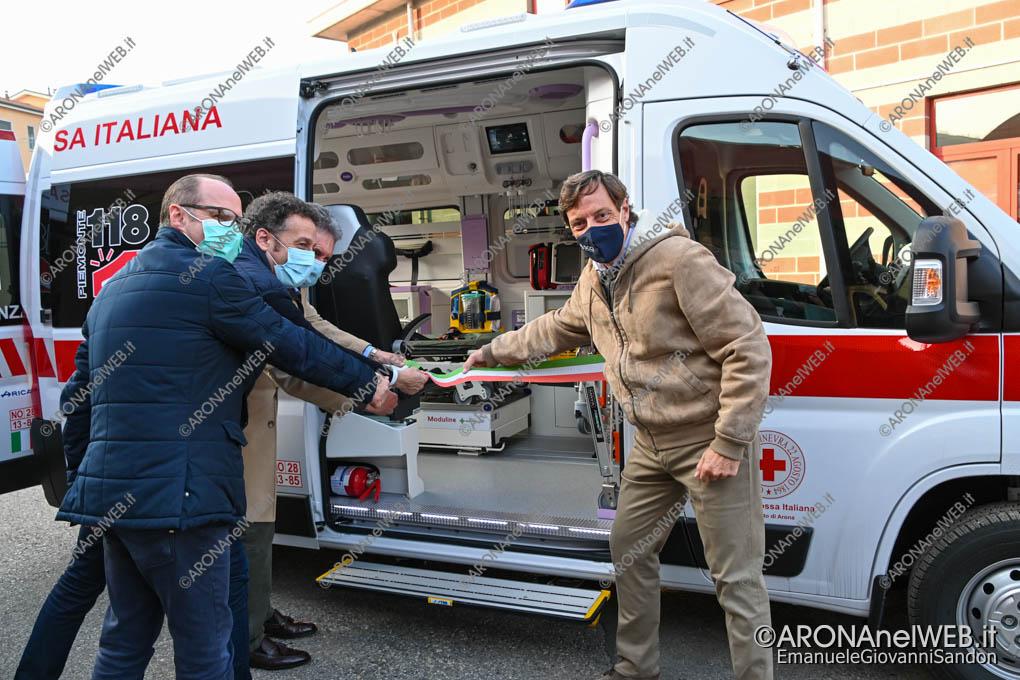 EGS2020_18334 | Cri Arona, inaugurazione ambulanza biocontenimento batterico