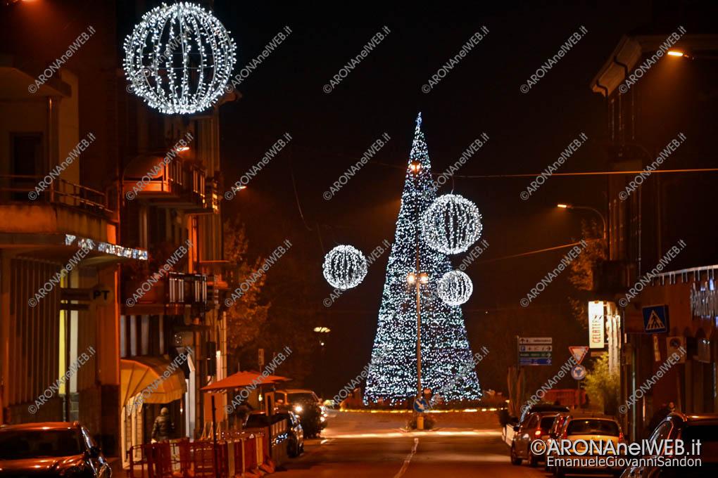 EGS2020_18636 | Luminarie di Via Matteotti e il grande albero