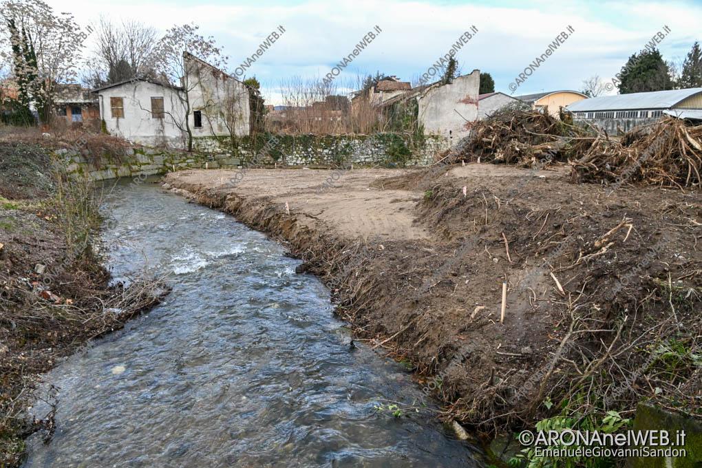 EGS2021_00142 | Messa in sicurezza della sponda idrografica del Torrente Vevera in via Monte Nero ad Arona