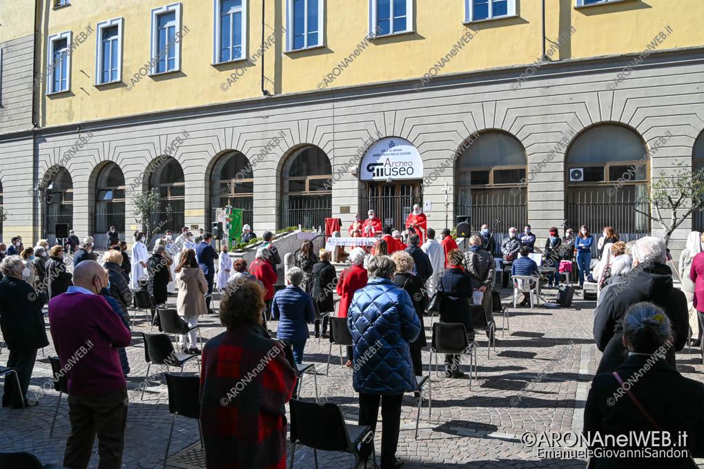 EGS2021_00862 | Messa solenne in piazza San Graziano in ricorrenza della solennità dei Santi Martiri