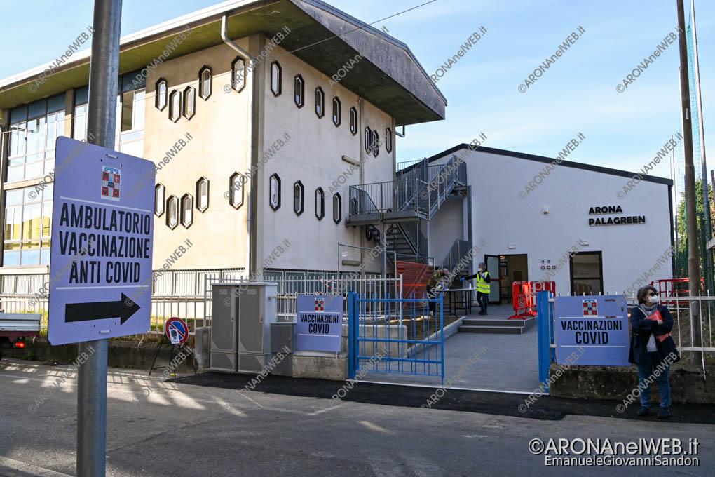 EGS2021_01024 | Il Palagreen Arona di Via Monte Zeda è centro vaccinale anticovid