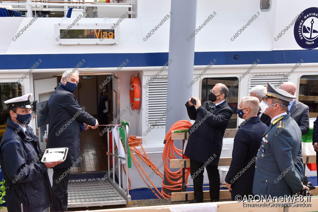 EGS2021_01492 | Renato Poletti, Gestore Governativo Navigazione Laghi taglia il nastro