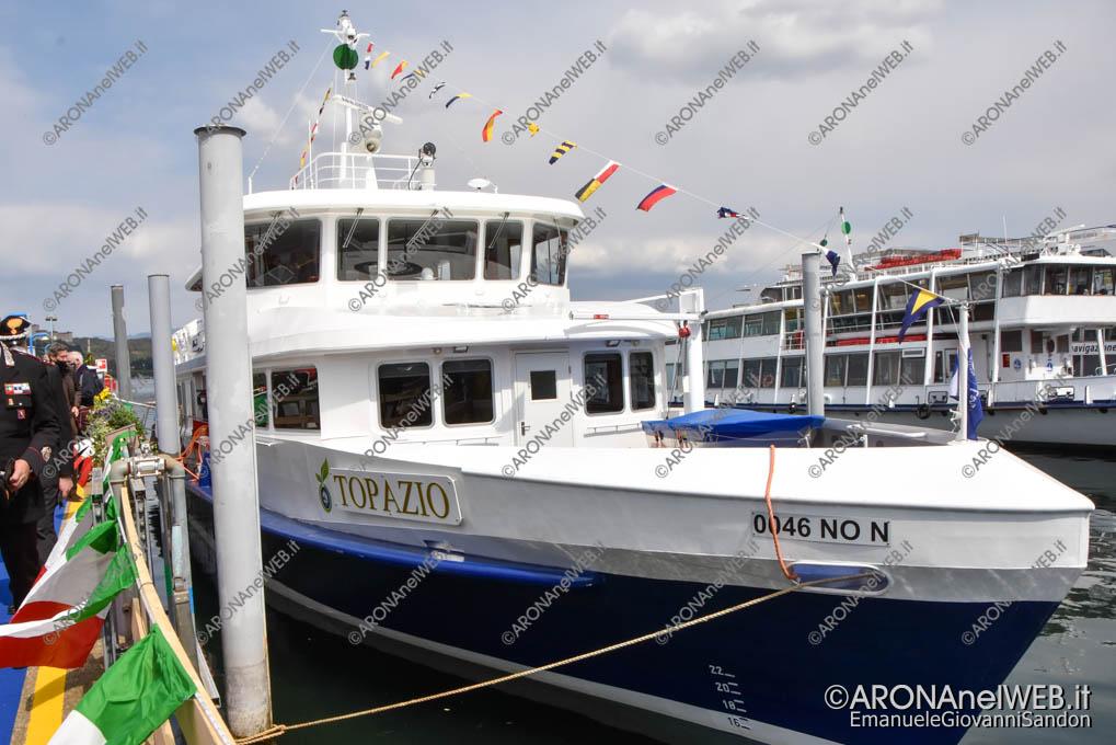 EGS2021_01753 | Topazio, la nuova nave ibrida diesel/elettrica in servizio nelle acque interne italiane del lago Maggiore
