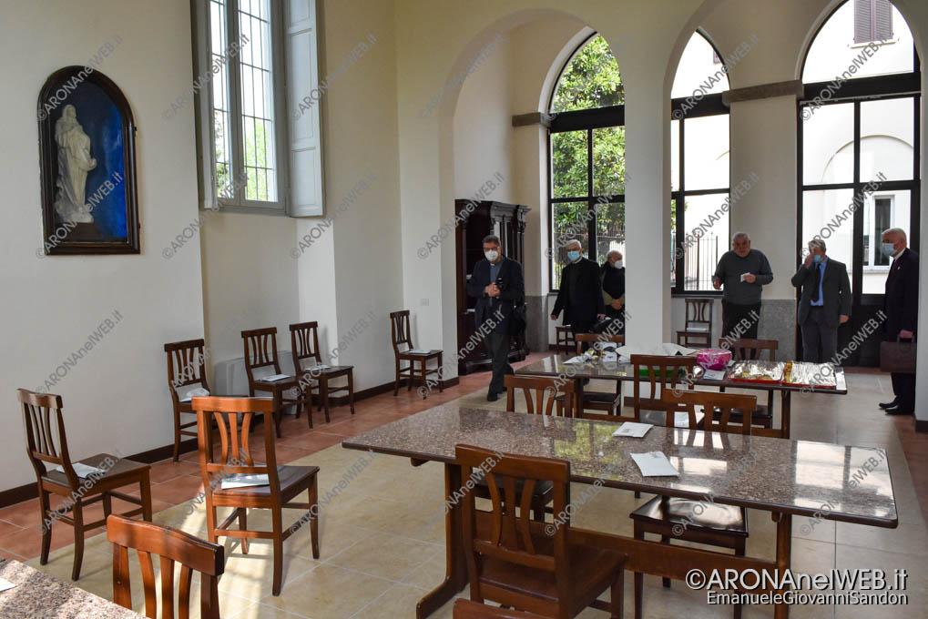 """EGS2021_02032   Refettorio - Seminario Vescovile """"San Gaudenzio"""" Gozzano"""