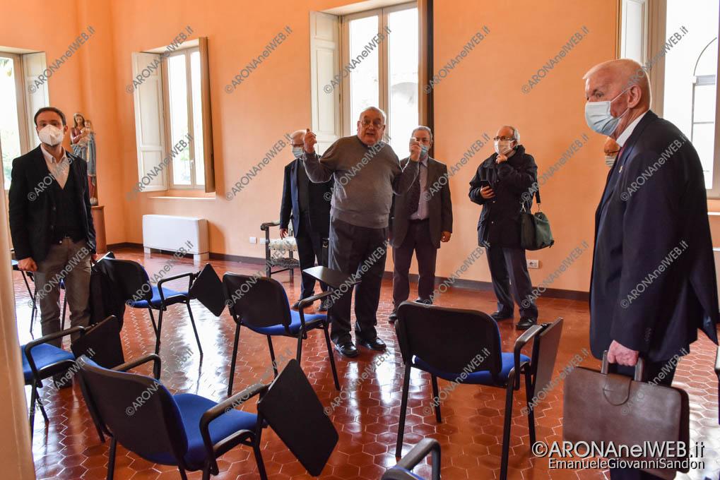 """EGS2021_02041   Sala incontri - Seminario Vescovile """"San Gaudenzio"""" Gozzano"""