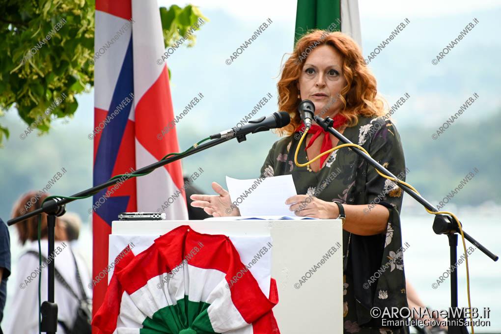 EGS2021_03322 | Lucia Caruso, Vice Presidente del Comitato Provinciale dell'Anpi di Novara