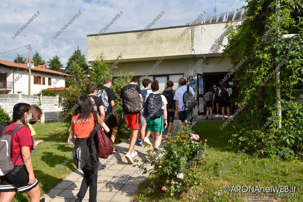 EGS2021_03382   Route dei Giovani 2021, colazione offerta al centro incontro anziani di Grignasco
