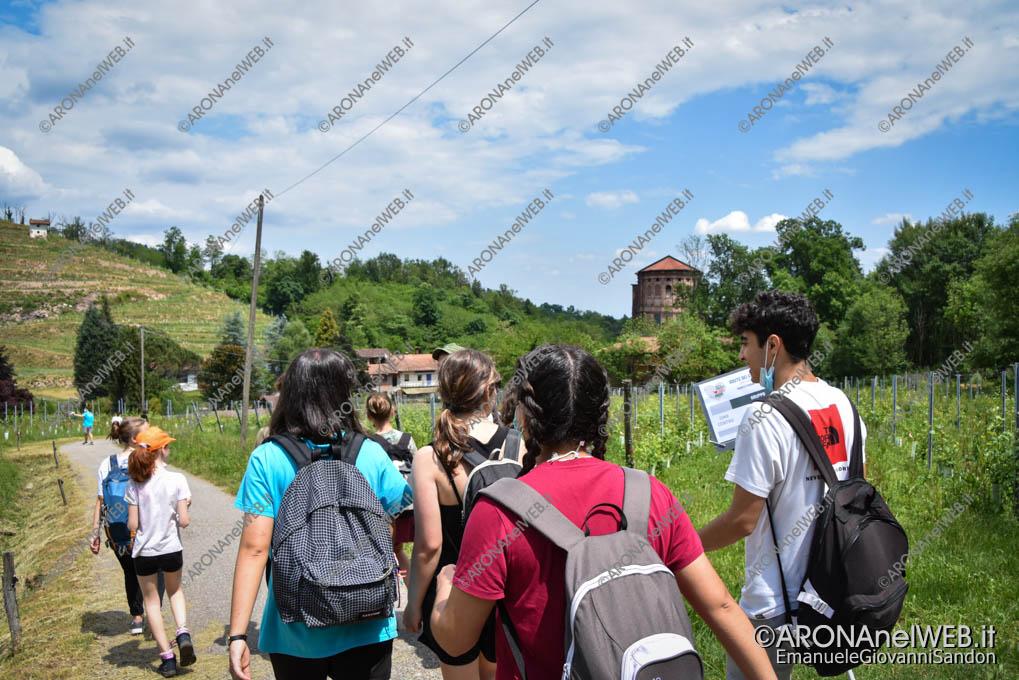 EGS2021_03723   Route dei Giovani 2021 arrivo al Santuario di Boca