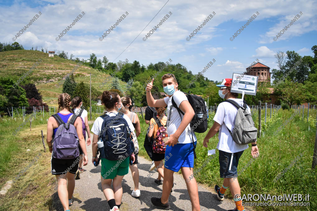 EGS2021_03734   Route dei Giovani 2021 arrivo al Santuario di Boca