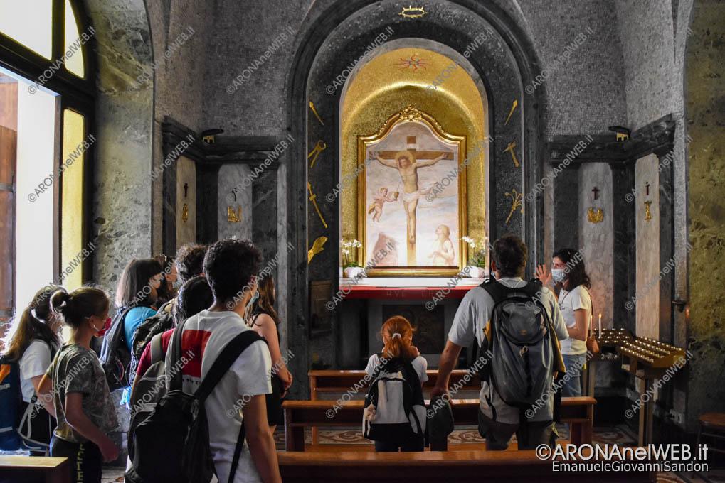 EGS2021_03787   Route dei Giovani 2021 visita guidata al Santuario di Boca