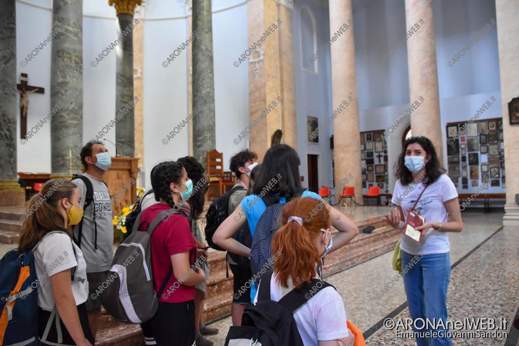 EGS2021_03800   Route dei Giovani 2021 visita guidata al Santuario di Boca