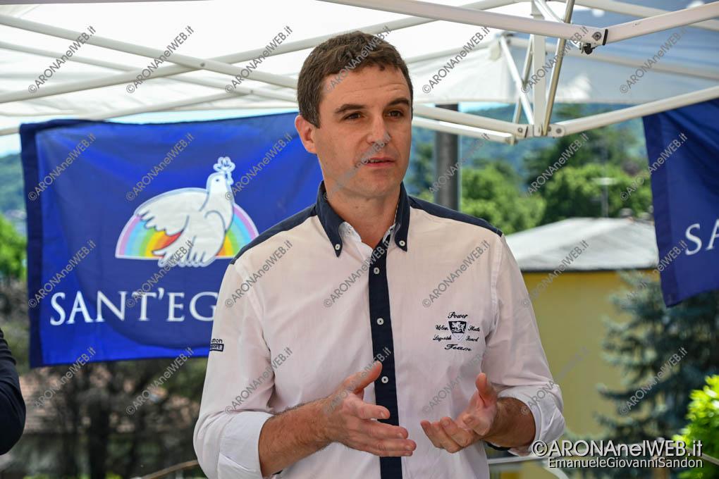 """EGS2021_04260   Fabio Saini, presidente del Centro di Solidarietà """"La compagnia"""""""