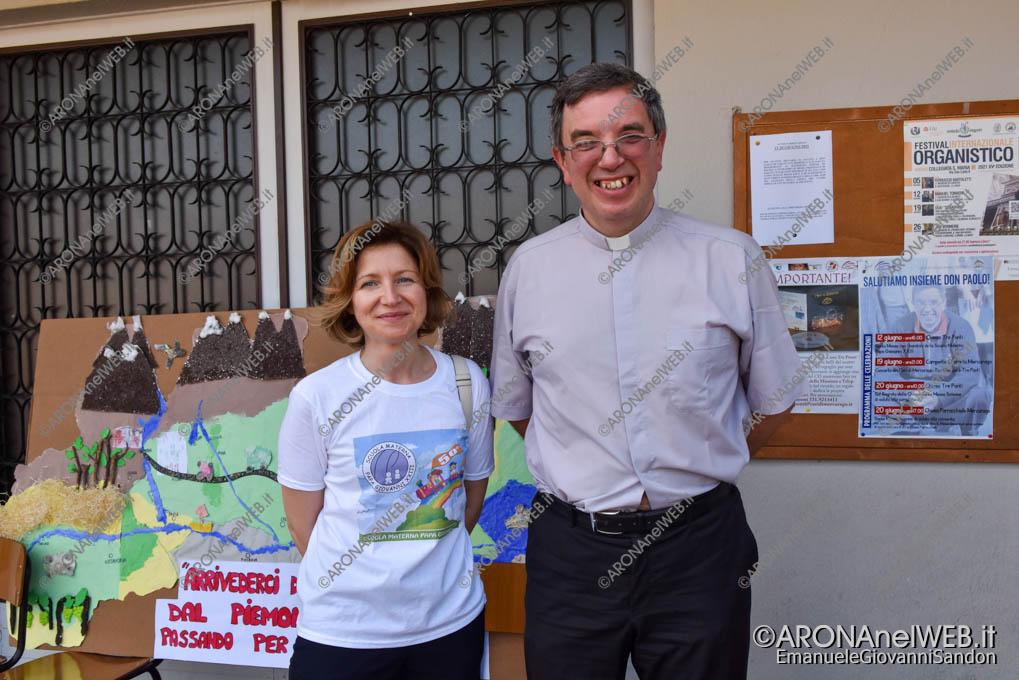 EGS2021_04502   La coordinatrice Sara Bacchetta con don Paolo Bellussi