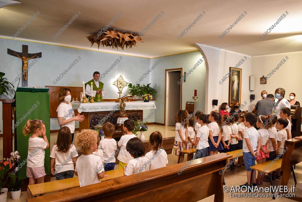 EGS2021_04527   Messa di Saluto a don Paolo con gli i bambini della Scuola Materna Papa Giovanni XXIII
