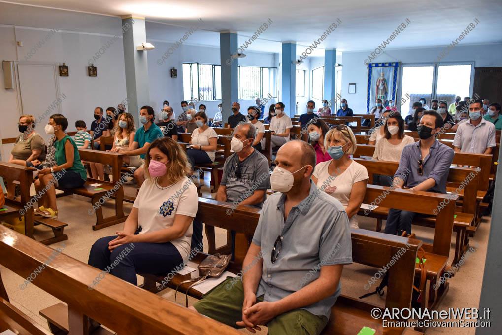 EGS2021_04539   Messa di Saluto a don Paolo con gli i bambini della Scuola Materna Papa Giovanni XXIII