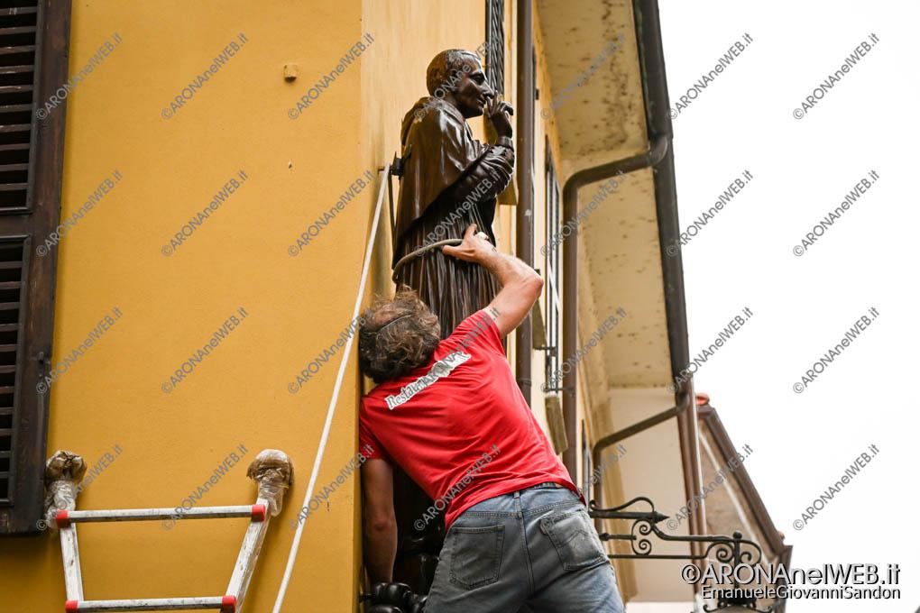 EGS2021_05114 | Il Sancarlino viene agganciato alla parete