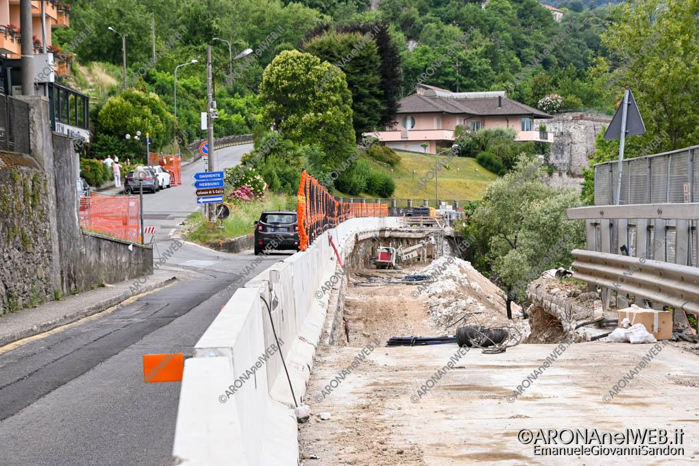EGS2021_07882 | I lavori di consolidamento della strada SS33 ad Arona