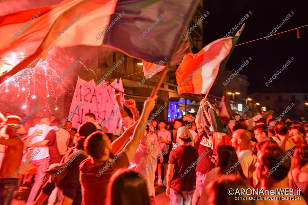 EGS2021_08475   Italia campione d'Europa, Arona in festa