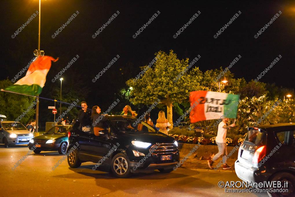 EGS2021_08514   Arona in festa per l'Italia campione d'Europa