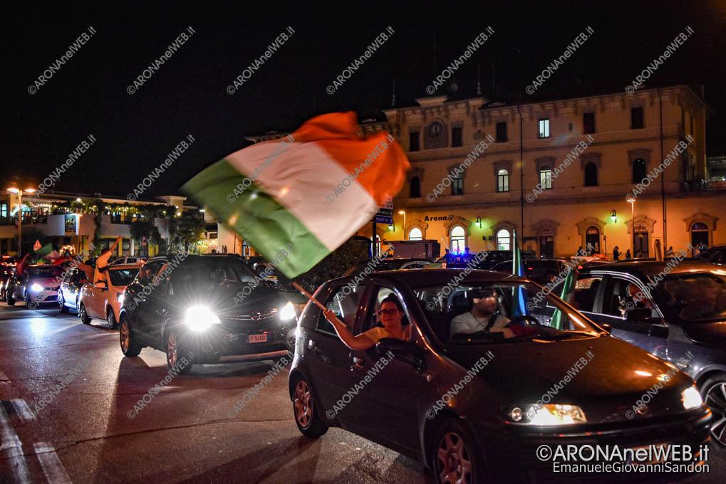 EGS2021_08543   Arona in festa. Italia campione d'Europa