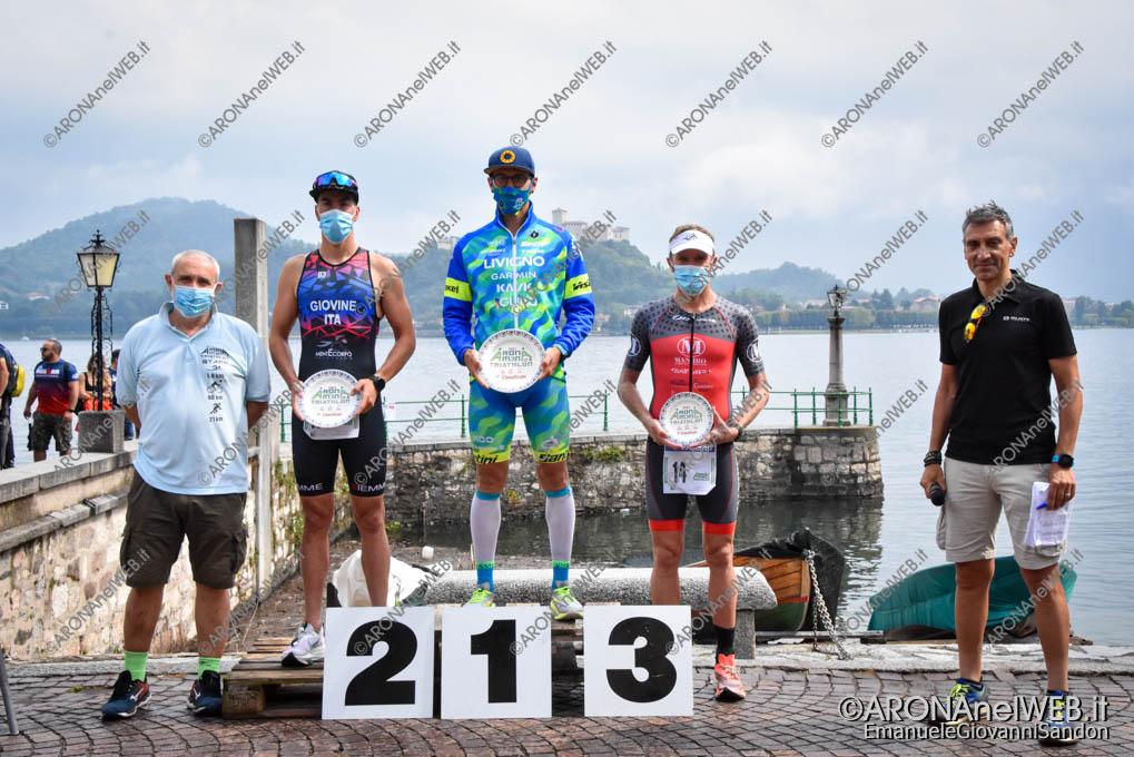 EGS2021_10786 | AronaMen Triathlon 2021 - premiazione assoluto maschile